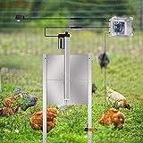 InLoveArts Kit apriporta automatico per pollaio con timer programmabile Controller Timer Attuatore Motore Telecomando impermeabile Porta automatica per polli Sensore di sicurezza
