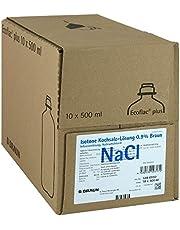 Isotone zoutoplossing B. Braun 0,9% Ecoflac plus 10 x, 500 ml