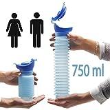 Lunata 750ml Universal Mini Urinal für Mann