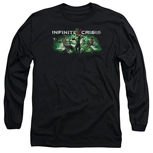 Crise Infinie - IC Green Tee-shirt à manches longues, XX-Large, Black