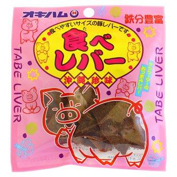 沖縄ハム 食べレバー 15g