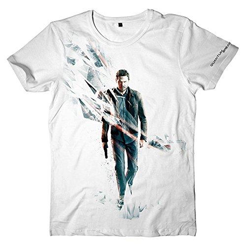 Quantum Break Game T-Shirt (Klein, Wit)