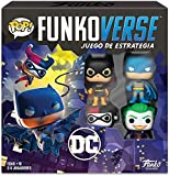 Funko Pop! Funkoverse Strategy Game: DC 100 - Base Set in Spanish, Multicolor