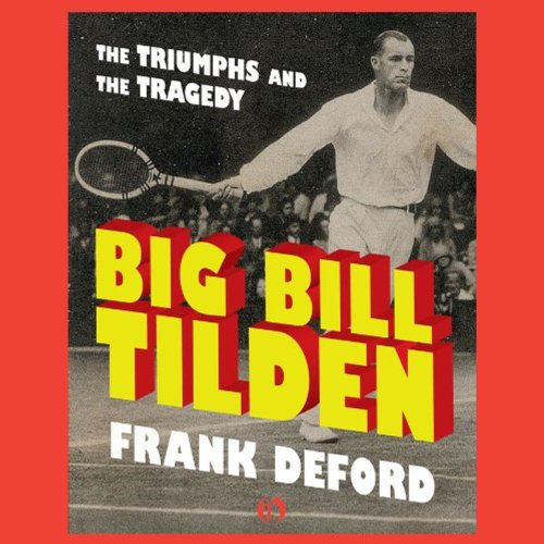 Big Bill Tilden audiobook cover art