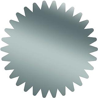 优质纸张! Starburst 银箔证书印章,4.45 厘米,100 件 (2013316)