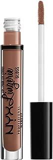 Nyx Professional Makeup Lip Lingerie Gloss, Mid-tone Beige, 5ml
