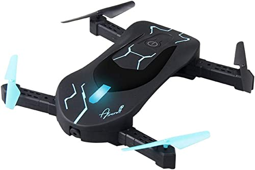 NBKLS Quadcopter, Folding Drone Height WiFi Hd Real-Time Aerial Photography 2 Millionen Quadcopter UAV Durable Sports Car Hd Camera 3D Flips