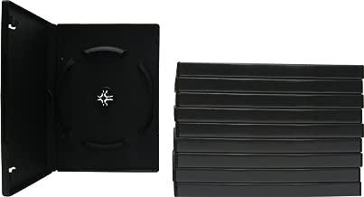 DV6R14STKBK - 6-Disc Capacity DVD Cases - Stackable - Black - (10 Pack)