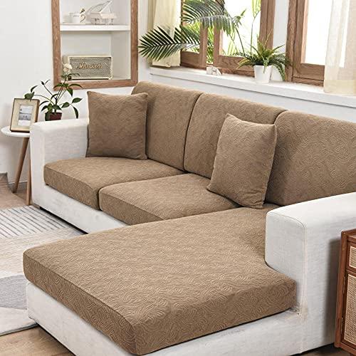 Fundas de sofá de Esquina,La Funda elástica Universal con Todo incluido-A-17_Double,Cubre Sofa Universal Tejido de Poliéster