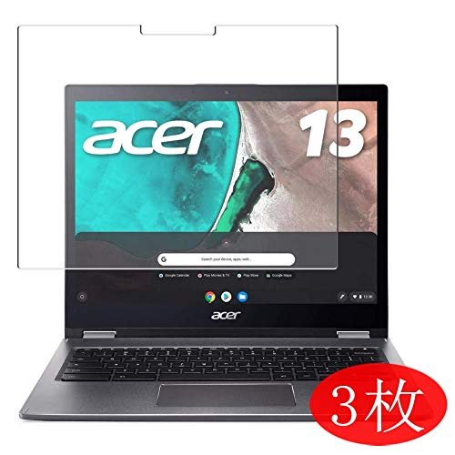 3-Pack Vaxson Screen Protector Compatible with Acer Chromebook Spin 13 CP713 13.5', Ultra HD Film Protector [NOT Tempered Glass] TPU Flexible Protective Film