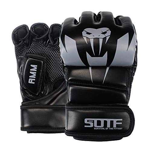 SOTF MMA Boxhandschuhe, atmungsaktiv,...