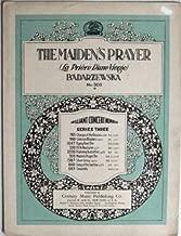 The Maiden's Prayer (Badarzewska, no-300)