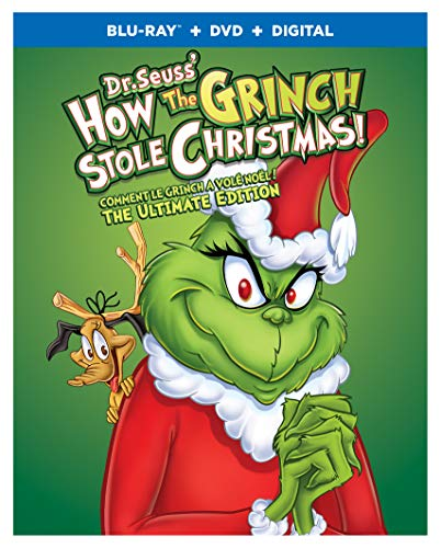 How The Grinch Stole Christmas: The Ultimate Edition - Blu-ray
