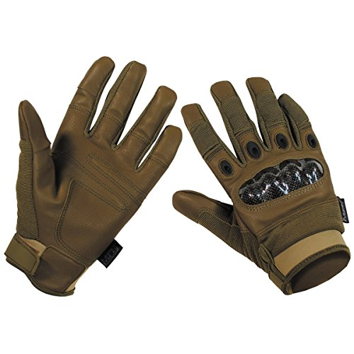 MFH Mission Tactical Gloves Coyote Tan size XXL