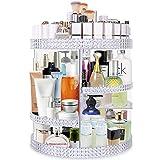 Famitree Rotating Makeup Organizer,Acrylic Clear Perfume Organizer,7 Adjustable...