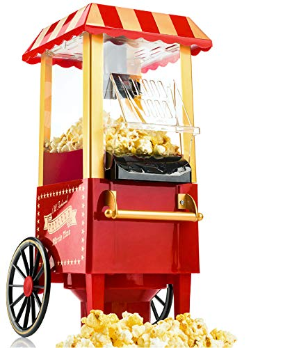 Gadgy ® Machine à Pop Corn | Retro Popcorn Maker |...