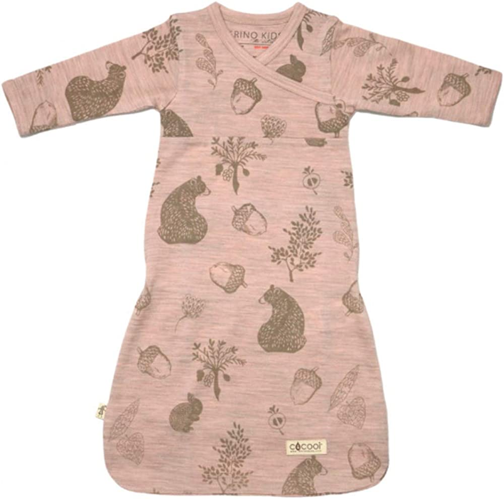 Cocooi Merino Baby Gown for Newborn Babies