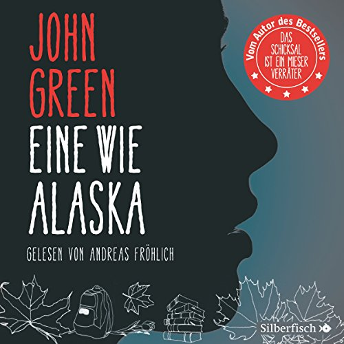 Eine wie Alaska audiobook cover art