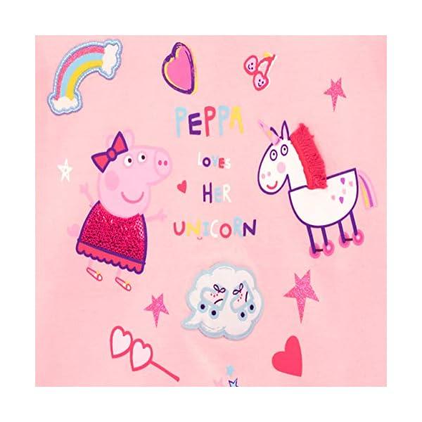 Peppa Pig Girls' Unicorn Long Sleeved Top 4