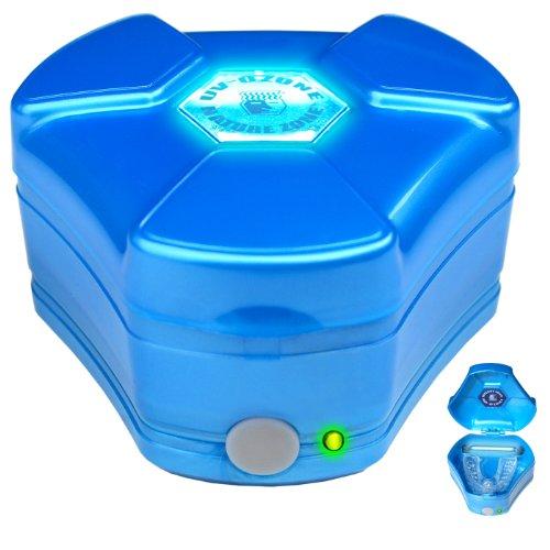 NATURE ZONE 100DIS - Saneador/desodorizador de ozono para Dispositivos orales, Azul, pequeño