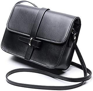 Fine Bag/Spring and Summer Leather Women Top Handle Satchel Handbag Tote Shoulder Bag Purse Crossbody Bag Designer (Color : Black, Size : OneSize)