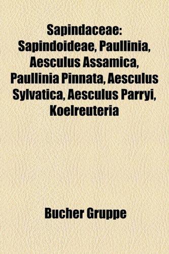 Sapindaceae: Sapindoideae, Paullinia, Aesculus Assamica, Paullinia Pinnata, Aesculus Sylvatica, Aesculus Parryi, Koelreuteria