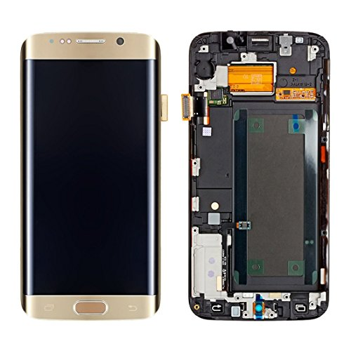Compatibele Vervangings IPartsBuy for Samsung Galaxy S6 Edge + / G928F LCD-scherm + Touch Screen Digitizer Vergadering met Frame Accessory