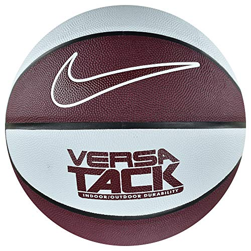 Nike Versa Tack Indoor Outdoor Basketball White Red Official Size