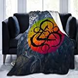 Bosb-00 Coheed and Cambria Blanket. Flannel Blanket is A Soft and Warm Bed Blanket, with 50' X40' 60' X50' 80' X60'