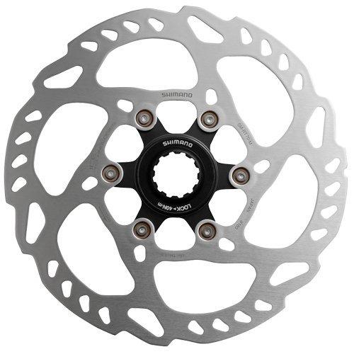 SHIMANO SM-RT70 Bremsscheibe, Silber/Schwarz, Durchmesser 180 mm