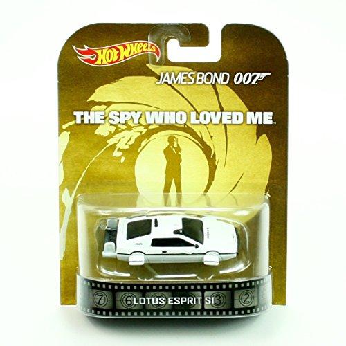 "Lotus Esprit S1 James Bond 007 \""The Spy Who Loved Me\"" Hot Wheels 2014 Retro Series 1/64 Die Cast Vehicle"