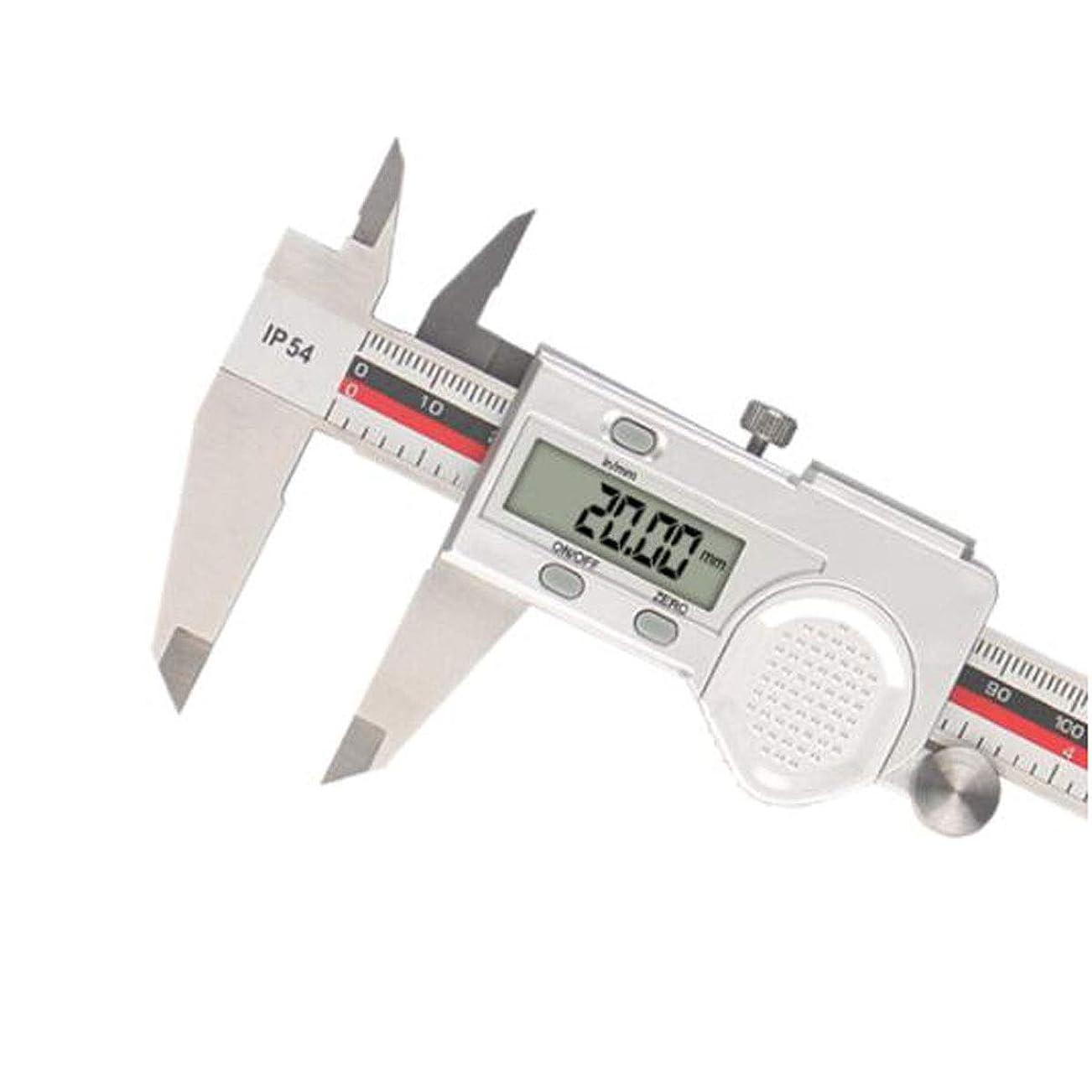 欠如約束する効果的にGUYUEXUAN ノギスデジタルディスプレイノギスステンレススチール150/200 / 300mmデジタルノギスプロフェッショナルメジャーツールメトリック/インペリアル (Size : 300MM)