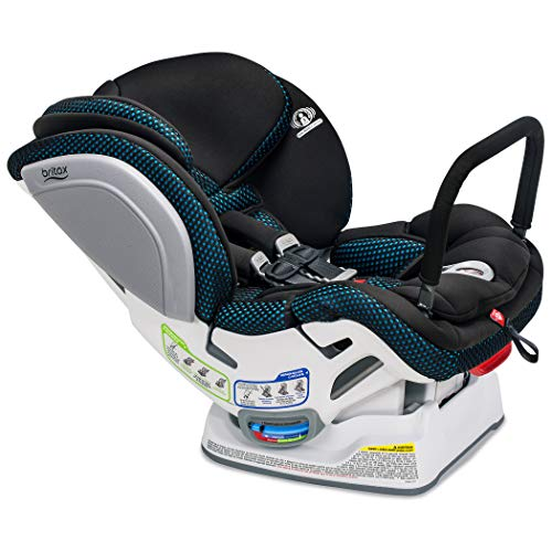 Britax Advocate ClickTight Convertible Car Seat | 3 Layer Impact Protection - Rear & Forward Facing - 5 to 65 Pounds + Cool Flow Ventilating Fabric, Cool Flow Teal