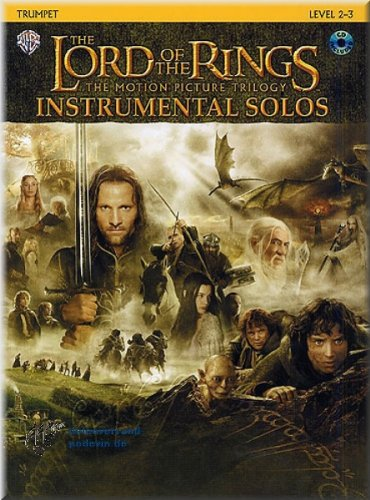 Herr der Ringe - Lord Of The Rings Instrumental Solos - Trompete Noten [Musiknoten]