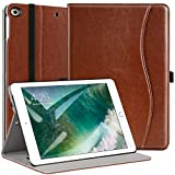 New IPad 9.7 Inch 2017 Case, Ztotop Premium Leather Business Slim Folding St