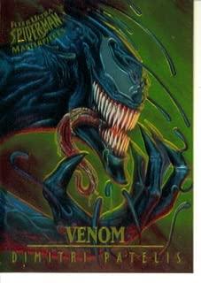 1995 Fleer Ultra Marvel Spider-Man Masterpieces Card #8 : Venom