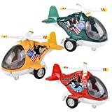 ArtCreativity Diecast Air Whale Helicopters with Pullback Mechanism, Set of 3, Die Cast Toy Choppers...