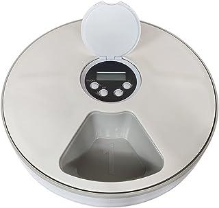 KT 自動給餌器 ペット 6食分 おしゃれ ペットフィーダー ペット用品 健康管理 餌やり機 自動 犬 猫 [並行輸入品]