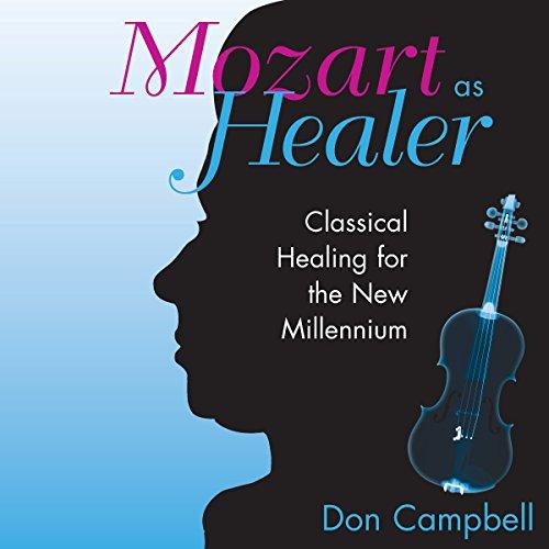 Mozart as Healer audiobook cover art