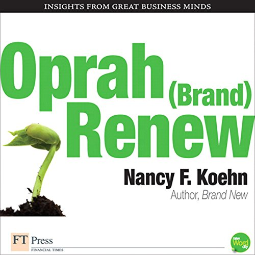Oprah (Brand) New audiobook cover art