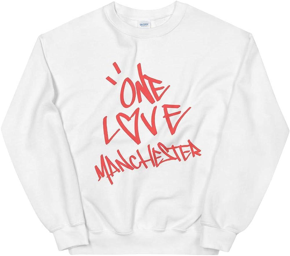 One Love Virginia Beach Mall Manchester Ariana Grande O Blouse White 2021 new Sweatshirt