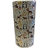 Acacia Home Portaombrelli in Ceramica a Forma di Cane, 45,7 cm