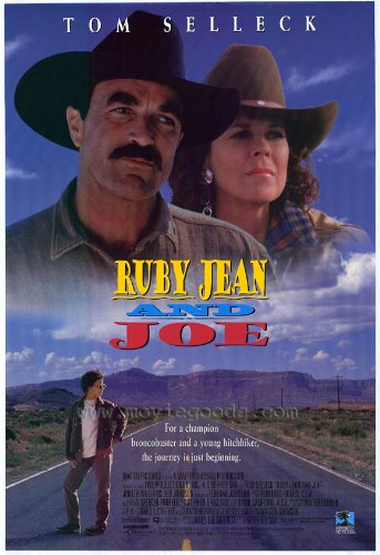 Ruby Jean and Joe Movie Poster (27 x 40 Inches - 69cm x 102cm) (1996) -(Tom Selleck)(Rebekah Johnson)(JoBeth Williams)(Ben Johnson)