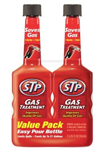 STP Gas Treatment, Fuel Intake System Cleaner, Bottles, 5.25 Fl Oz, Pack of 2, 78578