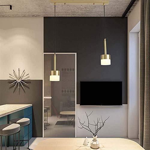HLL Lámparas de techo Lámparas de techo, nórdico, moderno, minimalista, dormitorio, lámpara de noche, personalidad creativa, restaurante, mesa de bar, cabeza única, acrílico, tienda de ropa, lámpara