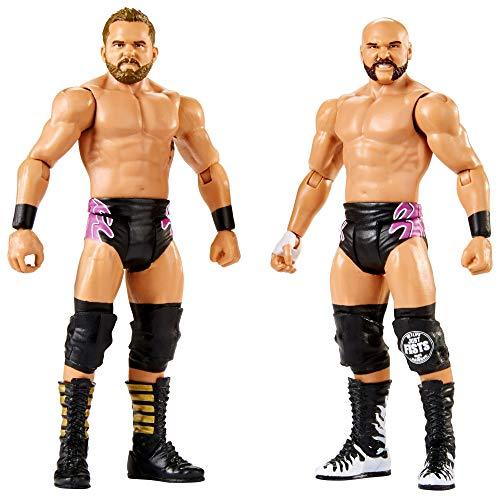 Mattel FMF76 WWE Dash Wilder und Scott Dawson 15 cm Basis Figuren 2er-Pack, Spielzeug Actionfiguren ab 6 Jahren