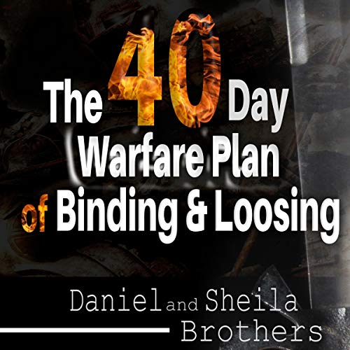 『The 40 Day Warfare Plan of Binding and Loosing』のカバーアート