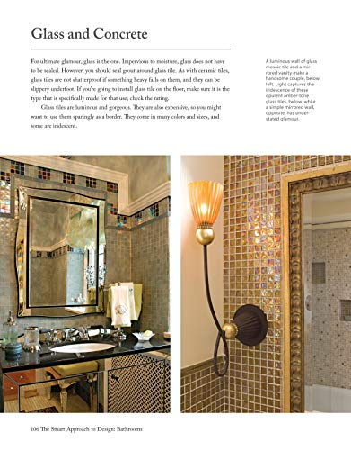 Bathrooms, Revised & Updated 2nd Edition: Complete Design Ideas to Modernize Your Bathroom (Creative Homeowner) 350 Photos; Plan Every Aspect of Your Dream Project (The Smart Approach to Design)