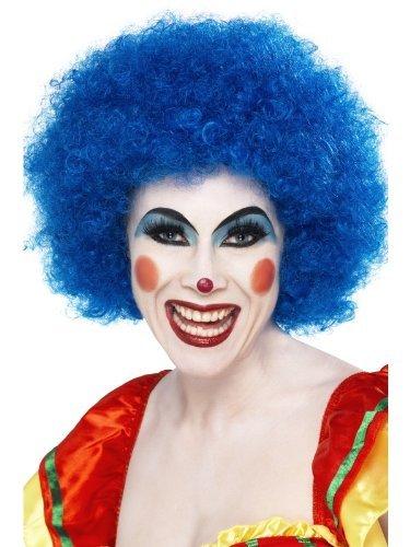 Homme Femme Enfant Costume Perruque afro bleue