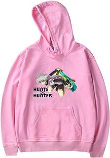 OLIPHEE Fashion Anime Hunter X Hunter Hoodies Men/Women Sweatshirt Killua Harajuku Clothes
